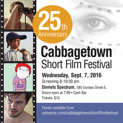 Cabbagetown Short Film Festival, 2016