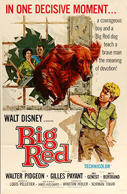 Big Red, movie, poster,