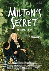 Milton's Secret, movie, poster,