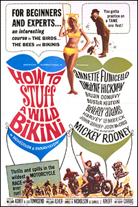 How To Stuff a Wild Bikini, movie, poster,