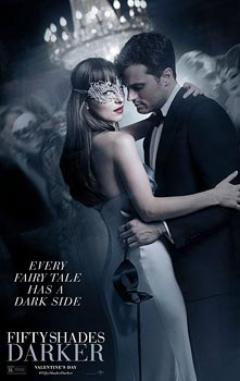 Fifty Shades Darker, movie, poster,
