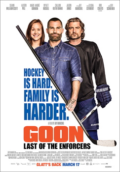 Goon: Last of the Enforcers, movie, poster,