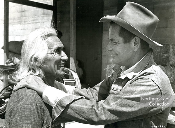 Chief Dan George & Glenn Ford, image