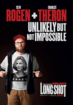Seth Rogen, Long Shot, movie, poster,