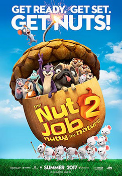 Will Arnett, Nut Job 2, movie, poster,