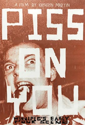 Piss on You, poster,