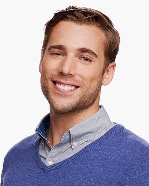 Dustin Milligan, actor,