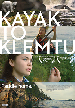 Kayak to Klemtu, movie, poster,