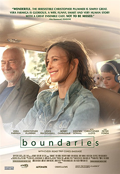 Boundaries, movie, poster,