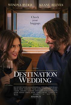 Destination Wedding, movie, poster,