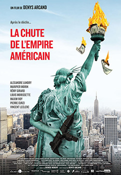 La chute de l'empire Américain, movie, poster,