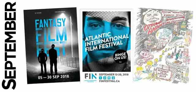 September Film Festivals, image,