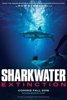 Sharkwater Extinction, movie, poster,