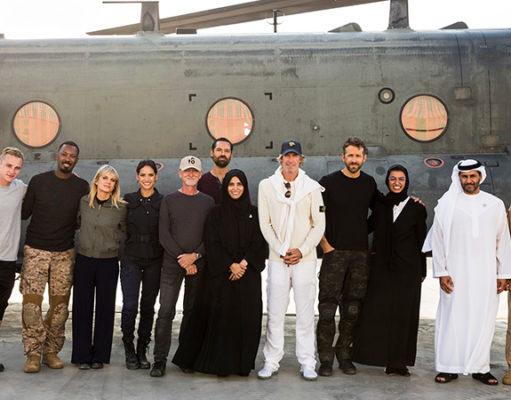 Ryan Reynolds Wraps 6 Underground, photo,