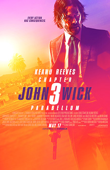 John Wick 3, movie, poster,