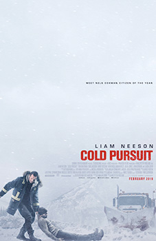 Cold Pursuit, movie, poster,
