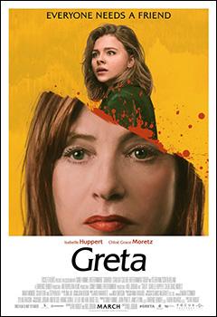 Greta, movie, poster,