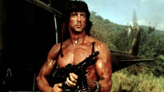 Rambo at Cannes, image,