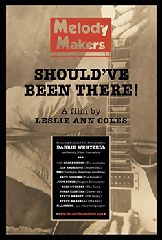 Melody Makers Should Have Been There, movie, poster,