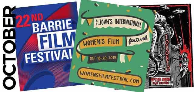 October 2019 Film Festivals