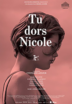 Tu Dors Nicole, movie, poster,
