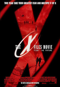 The X-Files Movie, poster