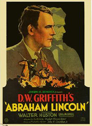 Abraham Lincoln, movie poster