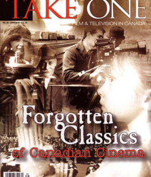 Take One Magazine, Cover for issue 38