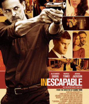 Poster for Inescapable courtesy of Alliance Films