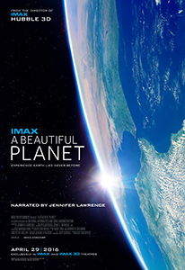 A Beautiful Planet, movie poster