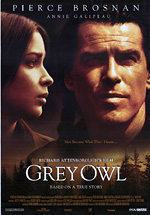 ;Grey Owl, 1999 movie poster;