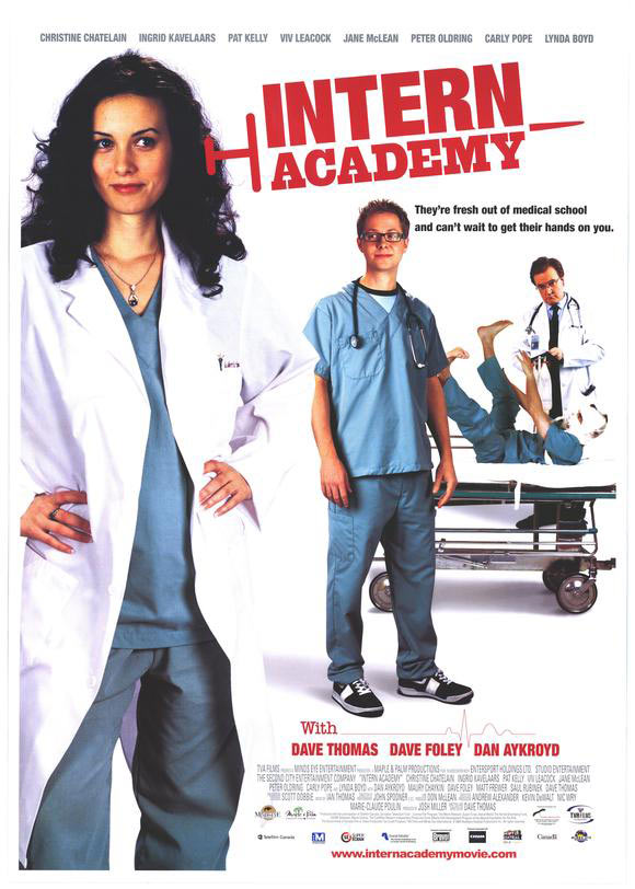 ;Intern Academy, 2003 movie poster;