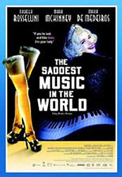 Saddest Music in the World, movie, poster,