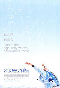 Snow Cake, movie, poster,