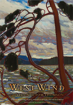 West Wind: The Vision of Tom Thomson, movie, poster,