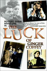 ;The Luck of Ginger Coffey, movie poster;