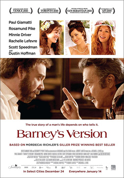 Barney's Version, movie, poster,