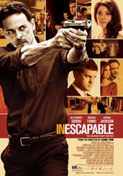 ;Inescapable, movie poster;