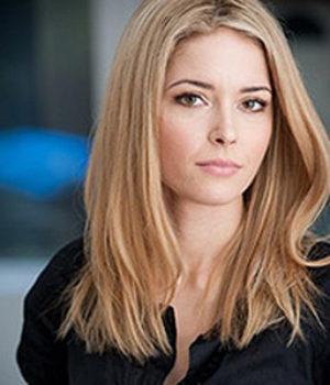 Sarah Lind, actress,