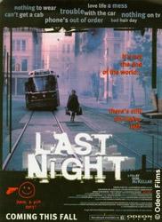 Last Night, movie, poster,