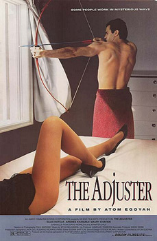 ;The Adjuster, 1991 movie poster - Northernstars Collection;