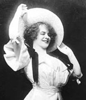 Eva Tanguay, actress,