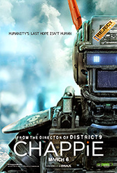 Poster for the 2015 movie, Chappie