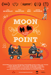 Poster for the 2012 film, Moon Point