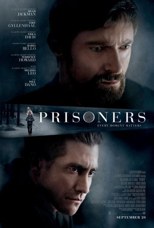 ;Prisoners, 2013 movie poster;