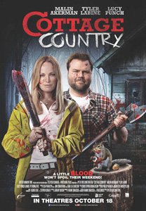 Cottage Country, movie, poster,