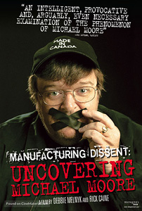 Manufacturing Dissent, movie, poster,