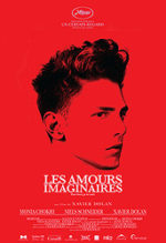 Les amours imaginaires, movie, poster,