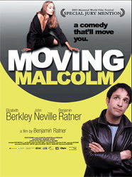 Poster for the 2003 film Moving Malcolm.