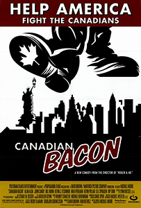 Canadian Bacon, movie poster